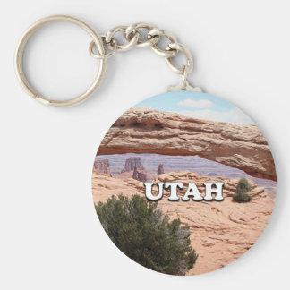 ユタ: メサのアーチ、Canyonlandsの国立公園、米国 キーホルダー