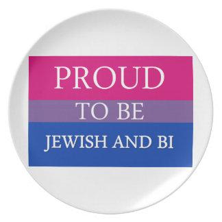 ユダヤ人およびBiがあること誇りを持った プレート