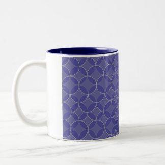 ユダヤ人のギフトのコーヒーマグKabbalah ツートーンマグカップ