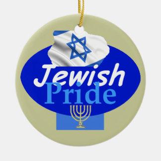 ユダヤ人のプライドのオーナメント セラミックオーナメント