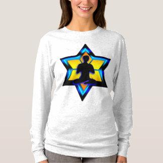 ユダヤ人のヨガ Tシャツ