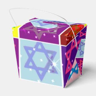 ユダヤ人の休日の食糧テイクアウトの箱- Judaicaの芸術 フェイバーボックス