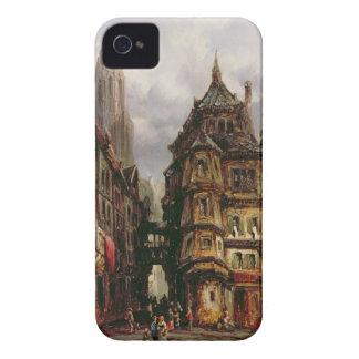 ユダヤ人の四分の一、ブランクフルト1877年の眺め(油 Case-Mate iPhone 4 ケース