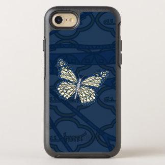 ユダヤ人の(昆虫)オオカバマダラ、モナークのオッターボックスの電話箱 オッターボックスシンメトリーiPhone 8/7 ケース