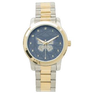 ユダヤ人の(昆虫)オオカバマダラ、モナークの腕時計 腕時計