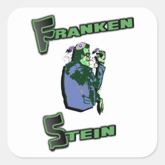 ユダヤ人のFrankenステイン スクエアシール