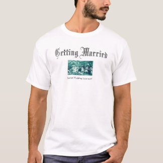 ユダヤ人結婚式 Tシャツ
