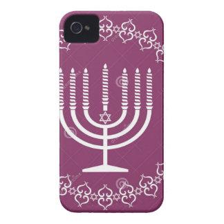 ユダヤ人(ユダヤ教)メノラー休日ベクトル背景27207795. Case-Mate iPhone 4 ケース