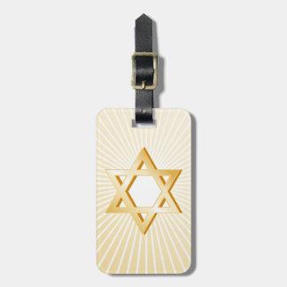 ユダヤ教の記号 ラゲッジタグ