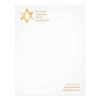 ユダヤ教の記号 レターヘッド