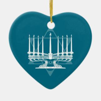 (ユダヤ教)メノラーおよび星IV セラミックオーナメント