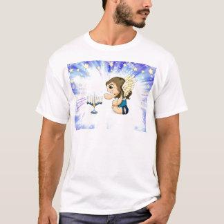 (ユダヤ教)メノラーの天使 Tシャツ
