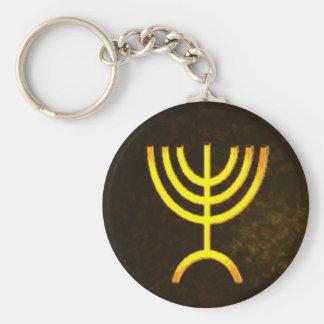 (ユダヤ教)メノラーの炎 キーホルダー