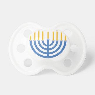 (ユダヤ教)メノラー おしゃぶり