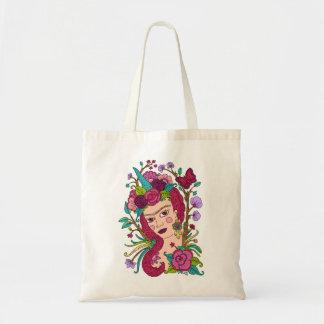 ユニコーンのイラストレーションのバッグ トートバッグ