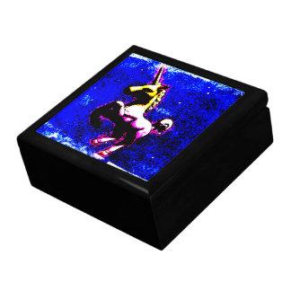 ユニコーンのタイルの記念品のギフト用の箱(パンクのカップケーキ) ギフトボックス