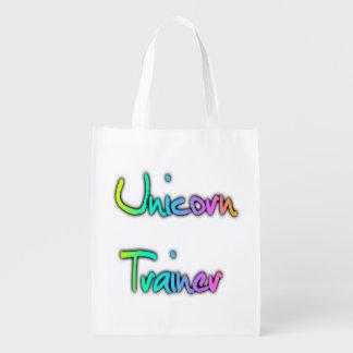 ユニコーンのトレーナーの虹 エコバッグ
