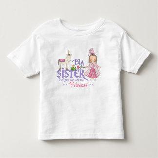 ユニコーンのプリンセスの姉のTシャツ トドラーTシャツ