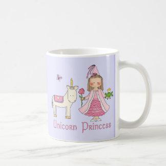 ユニコーンのプリンセス コーヒーマグカップ