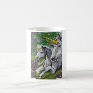ユニコーンのロバ及び子馬のアライグマのマグ コーヒーマグカップ