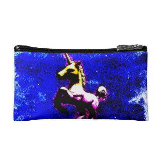 ユニコーンの化粧品のバッグのクラッチ(パンクのカップケーキ) コスメティックバッグ