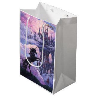 ユニコーンの城 ミディアムペーパーバッグ