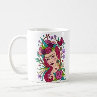 ユニコーンの女の子のマグ コーヒーマグカップ