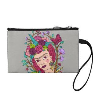 ユニコーンの女の子の化粧品のバッグ コインパース