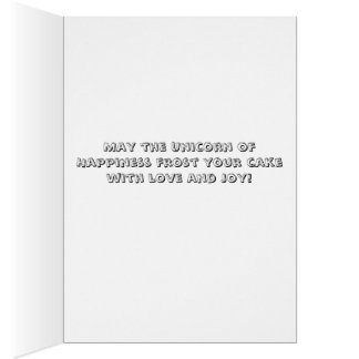 ユニコーンの幸福カード カード
