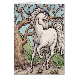 ユニコーンの木のnotecard カード