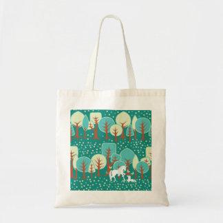 ユニコーンの森林 トートバッグ
