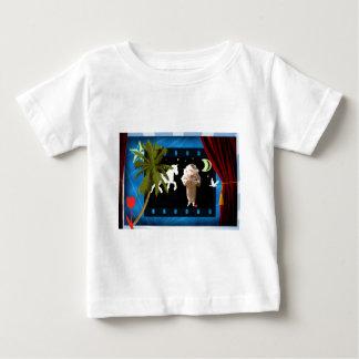 ユニコーンの白いpierrot ベビーTシャツ
