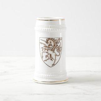 ユニコーンの盾 ビールジョッキ