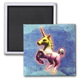 ユニコーンの磁石-か正方形(銀河系のきらめく) マグネット