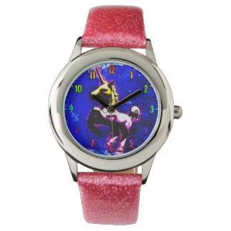 ユニコーンの腕時計|のパンクのカップケーキ 腕時計