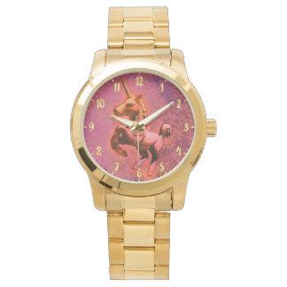 ユニコーンの腕時計|の赤い強度 腕時計