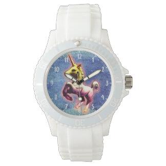 ユニコーンの腕時計|の銀河系のきらめく 腕時計