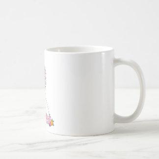 ユニコーンの蝶 コーヒーマグカップ