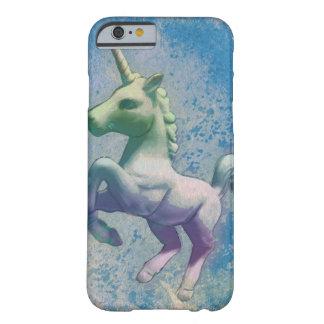 ユニコーンの電話箱(青い北極) BARELY THERE iPhone 6 ケース