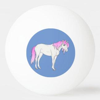 ユニコーンのPongの青および紫色の球 卓球ボール