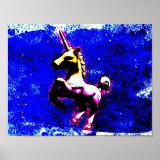 ユニコーンポスター芸術のプリント11x8.5 (パンクのカップケーキ) ポスター