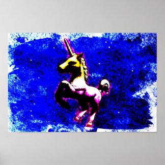 ユニコーンポスター芸術のプリント16.5x11 (パンクのカップケーキ) ポスター
