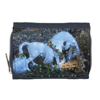 ユニコーン及び妖精のファンタジーの財布 ウォレット
