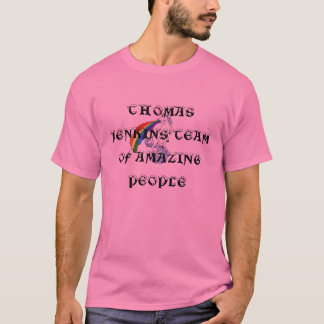 ユニコーン吐詳細、AMAのトマスJENKINSのチーム… Tシャツ
