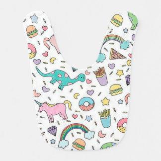 ユニコーン、愛、食糧および虹 ベビービブ