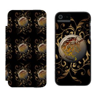 ユニコーン(私は信じます) INCIPIO WATSON™ iPhone 5 財布 ケース