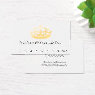 ユニセックスな宮殿のサロンの記念祭の王冠 名刺