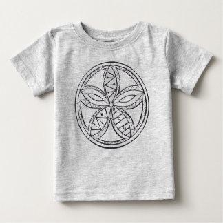 ユニセックスな曼荼羅のTシャツ ベビーTシャツ