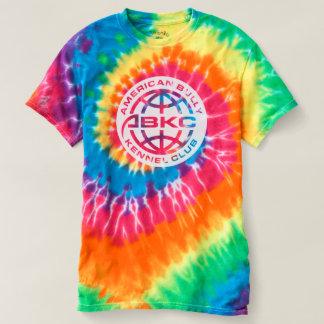 ユニセックスな絞り染めABKCのTシャツ Tシャツ