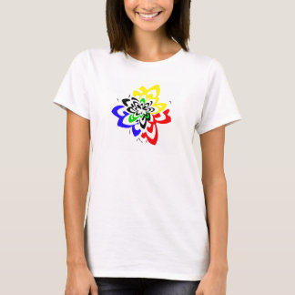 ユニセックスなcamiseta tシャツ